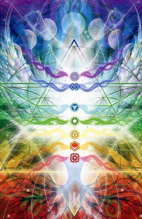 Chakra System for energetic healing